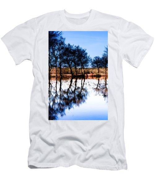 Blue Mirror Men's T-Shirt (Athletic Fit)