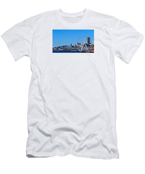 Blue Pier  Men's T-Shirt (Athletic Fit)