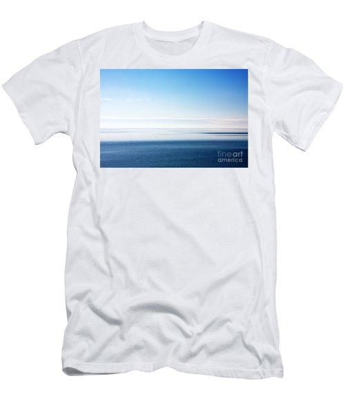 Blue Sea Scene Men's T-Shirt (Athletic Fit)