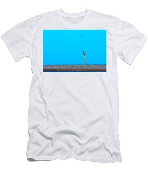 Blue Wall Parking Men's T-Shirt (Athletic Fit)