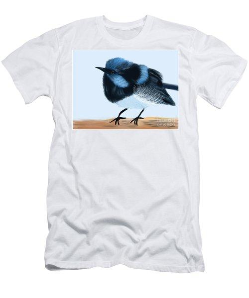 Blue Wren Beauty Men's T-Shirt (Athletic Fit)