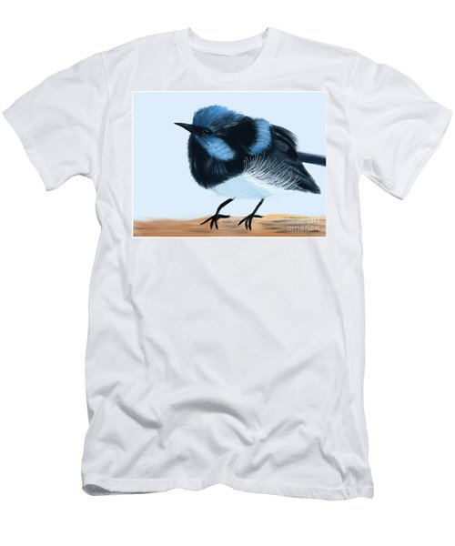 Blue Wren Beauty Men's T-Shirt (Athletic Fit)