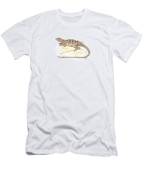 Blunt-nosed Leopard Lizard  Men's T-Shirt (Athletic Fit)