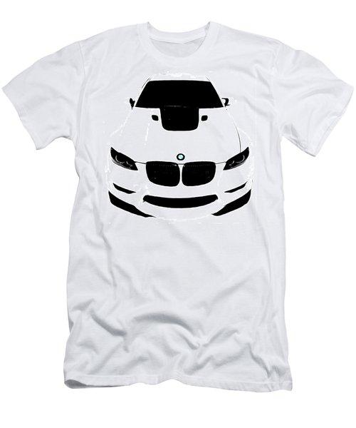 Bmw White Men's T-Shirt (Slim Fit) by J Anthony