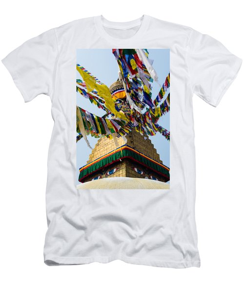 Bodhnath  Men's T-Shirt (Athletic Fit)