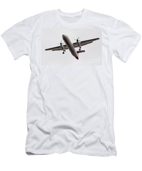 Bombardier Dhc 8 Men's T-Shirt (Athletic Fit)
