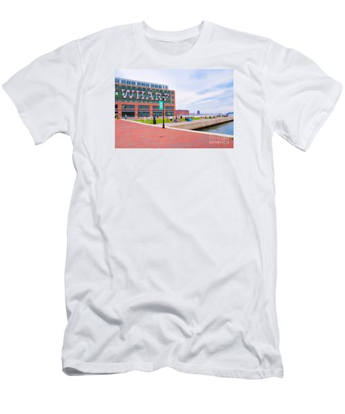 Bond Street Landing Baltimore Maryland Men's T-Shirt (Athletic Fit)