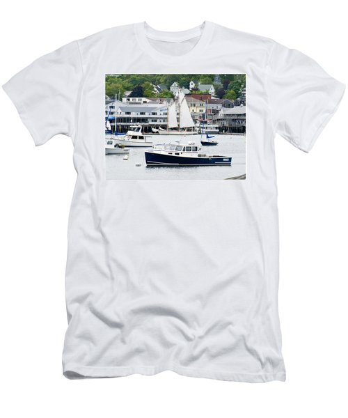 Boothbay Harbor Men's T-Shirt (Athletic Fit)