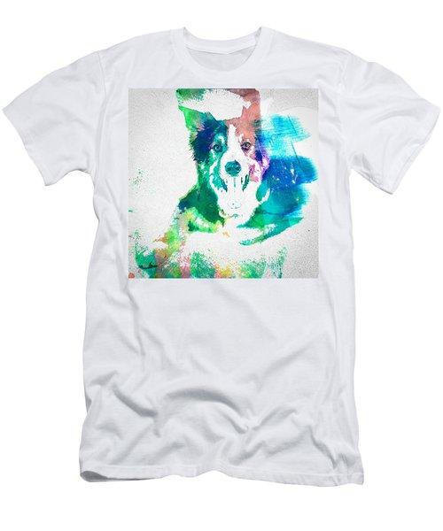 Border Collie - Wc Men's T-Shirt (Athletic Fit)