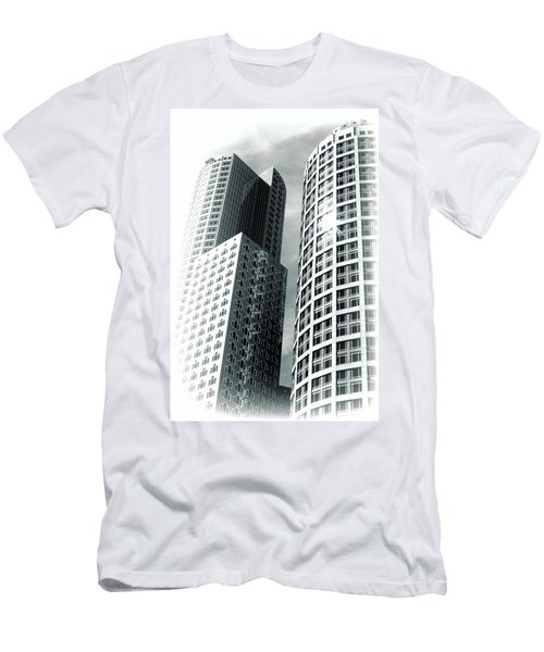Boston Architecture Men's T-Shirt (Athletic Fit)