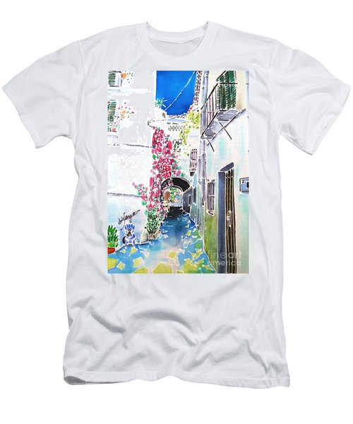 Bougainvillea Path  Men's T-Shirt (Athletic Fit)