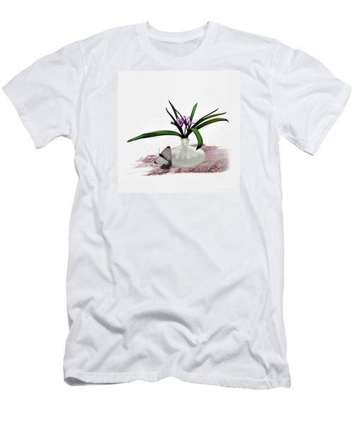 Bouque Of Flowers Men's T-Shirt (Athletic Fit)