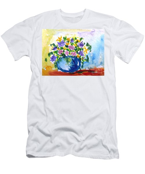 Bouquet Of Flowers In A Vase Men's T-Shirt (Athletic Fit)