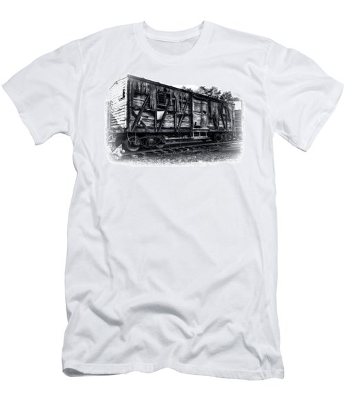 Box Car In High Key Hdr Men's T-Shirt (Athletic Fit)