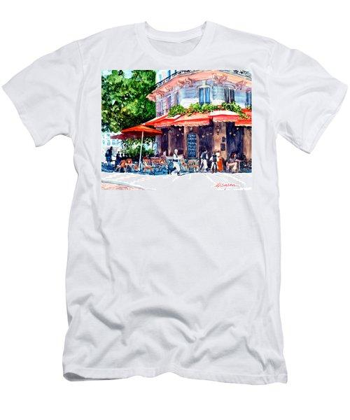 Brasserie Isle St. Louis Men's T-Shirt (Athletic Fit)