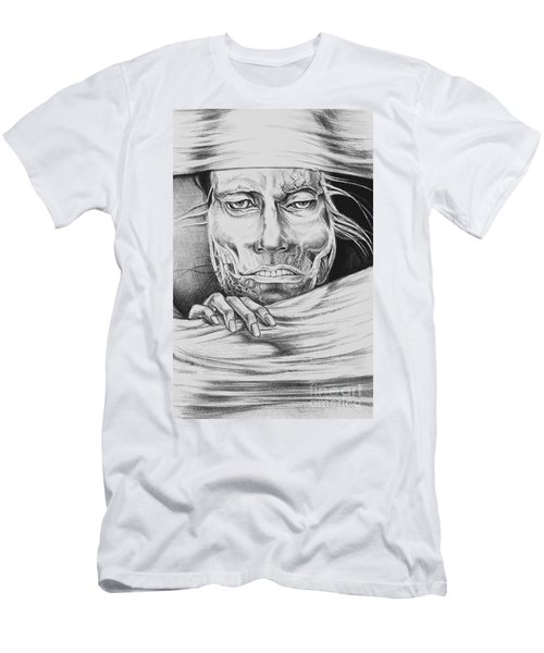Breaking Out Men's T-Shirt (Slim Fit) by Yvonne Wright