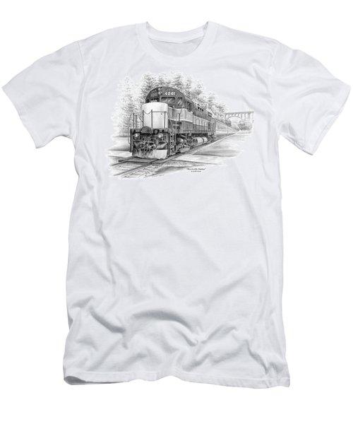 Brecksville Station - Cuyahoga Valley National Park Men's T-Shirt (Athletic Fit)