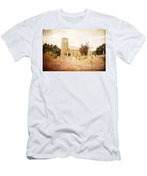 Brick Church In Montgomery Men's T-Shirt (Athletic Fit)