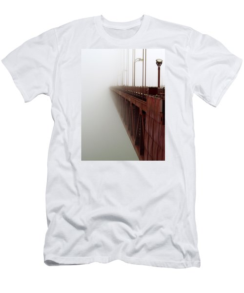 Bridge To Obscurity Men's T-Shirt (Slim Fit) by Bill Gallagher