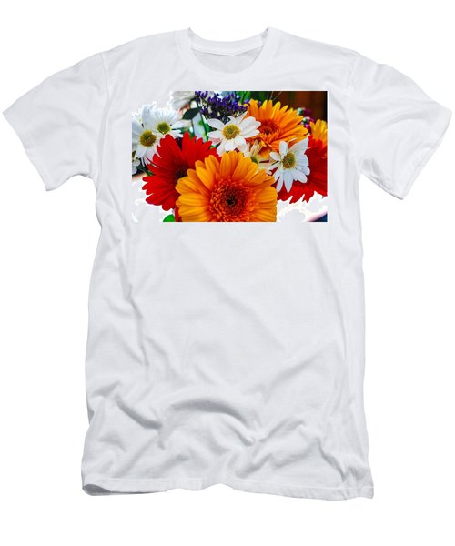 Men's T-Shirt (Slim Fit) featuring the photograph Bright by Angela J Wright