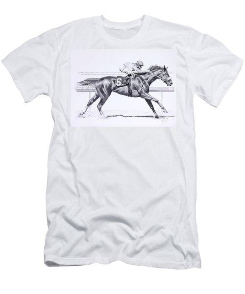 Bring On The Race Zenyatta Men's T-Shirt (Athletic Fit)