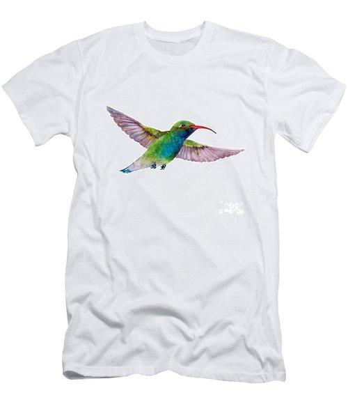 Broad Billed Hummingbird Men's T-Shirt (Athletic Fit)