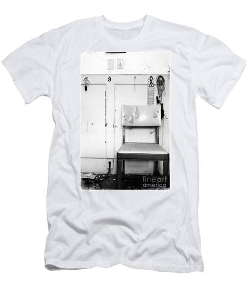 Men's T-Shirt (Slim Fit) featuring the photograph Broken Chair by Carsten Reisinger