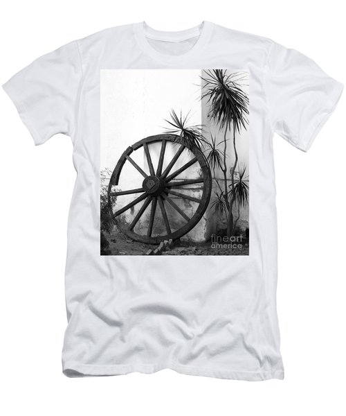 Broken Wheel Men's T-Shirt (Athletic Fit)
