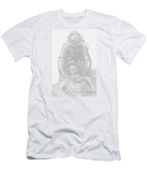 Brothers Men's T-Shirt (Slim Fit) by Susan  McMenamin