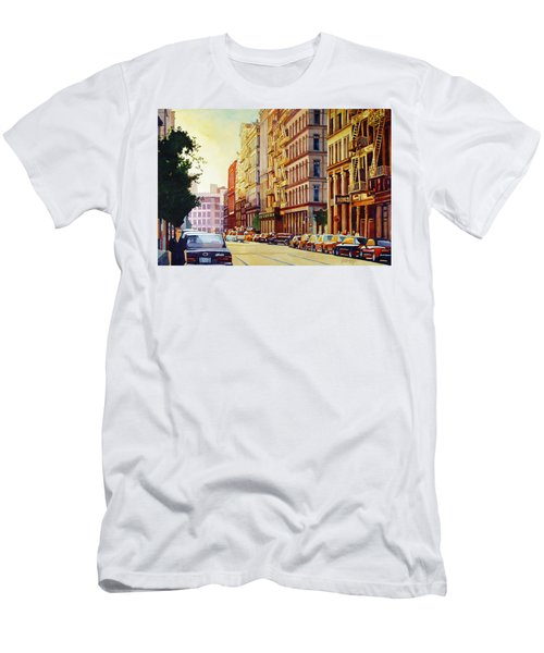 Brownstone Sunset Men's T-Shirt (Athletic Fit)