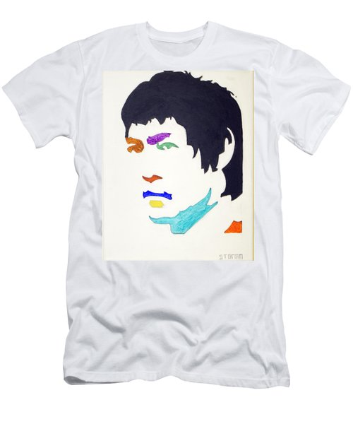 Men's T-Shirt (Slim Fit) featuring the  Bruce Lee by Stormm Bradshaw