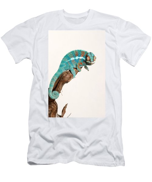 B.summers Panther Chameleon Men's T-Shirt (Athletic Fit)