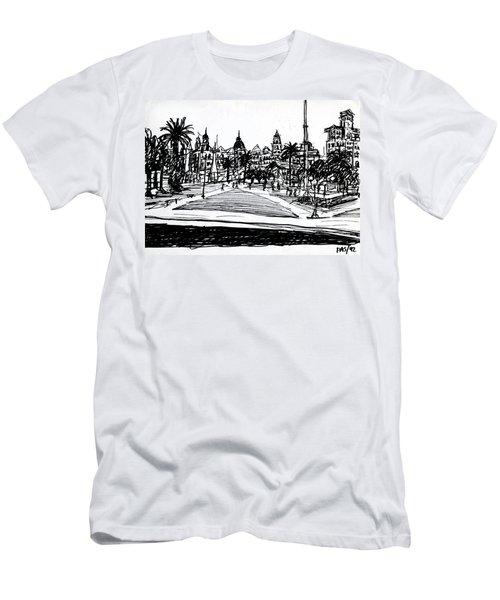 Buenos Aires Argentina  Men's T-Shirt (Athletic Fit)