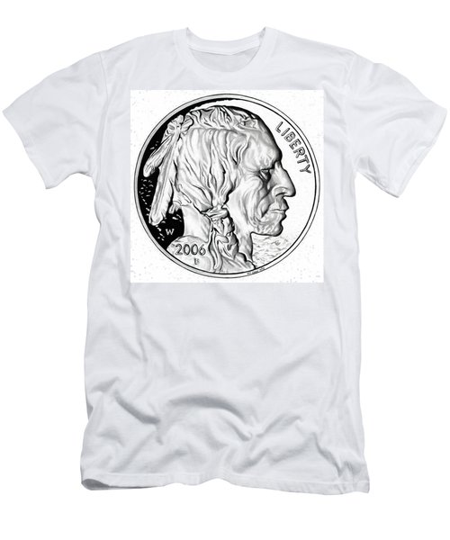 Buffalo Nickel Men's T-Shirt (Athletic Fit)