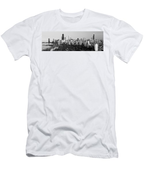 Buildings In A City, View Of Hancock Men's T-Shirt (Athletic Fit)