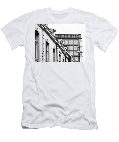 Buildings In Maastricht Men's T-Shirt (Slim Fit) by Nick  Biemans