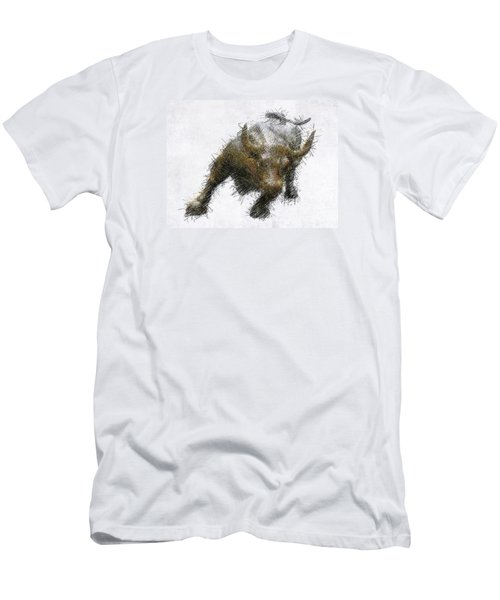 Bull Market Men's T-Shirt (Athletic Fit)