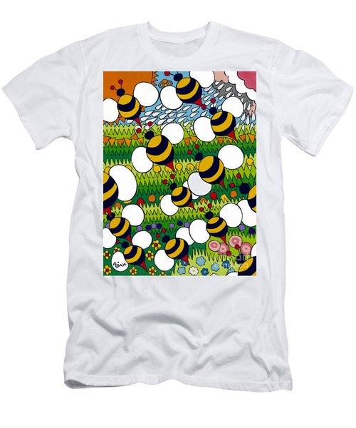 Bumble Men's T-Shirt (Athletic Fit)