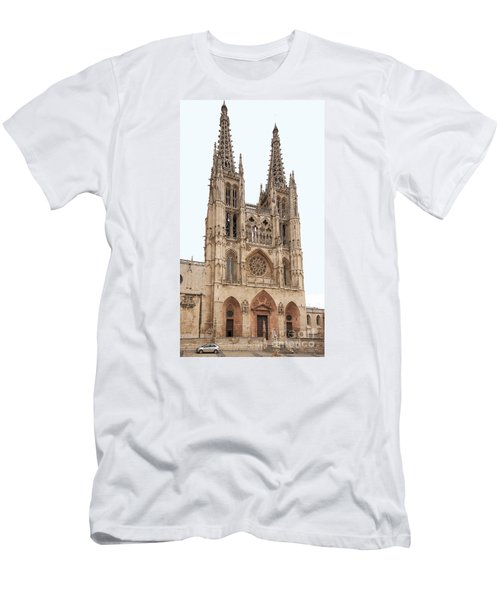Burgos Cathedral Spain Men's T-Shirt (Slim Fit) by Rudi Prott