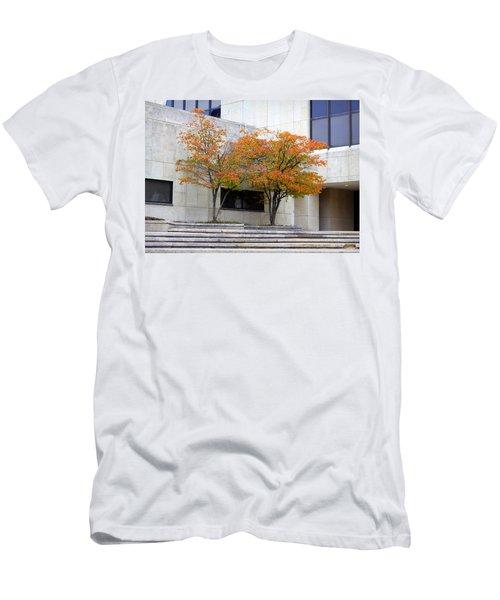 Burst Of Color Men's T-Shirt (Athletic Fit)