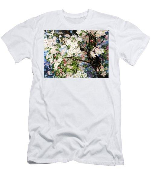 Burst Of Spring Men's T-Shirt (Athletic Fit)