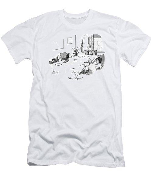 But I Digress Men's T-Shirt (Athletic Fit)