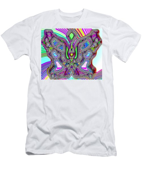 Butterfly Groove Men's T-Shirt (Slim Fit)