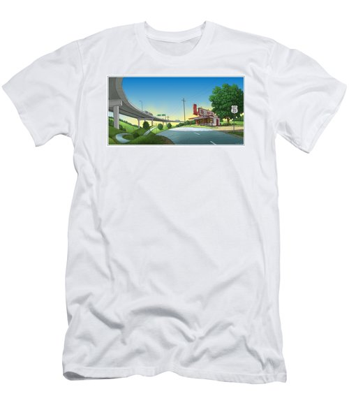 Bypassed Men's T-Shirt (Athletic Fit)