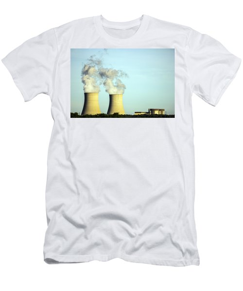 Byron Nuclear Plant Men's T-Shirt (Athletic Fit)