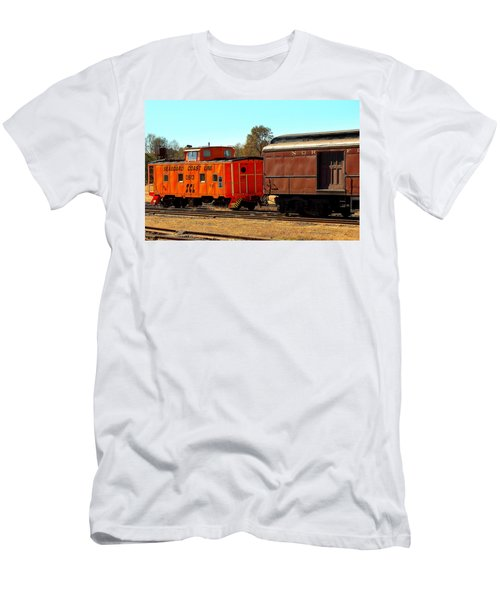 Caboose And Car Men's T-Shirt (Athletic Fit)