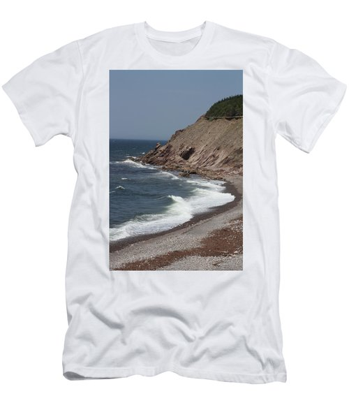 Cabot Trail Scenery Men's T-Shirt (Athletic Fit)