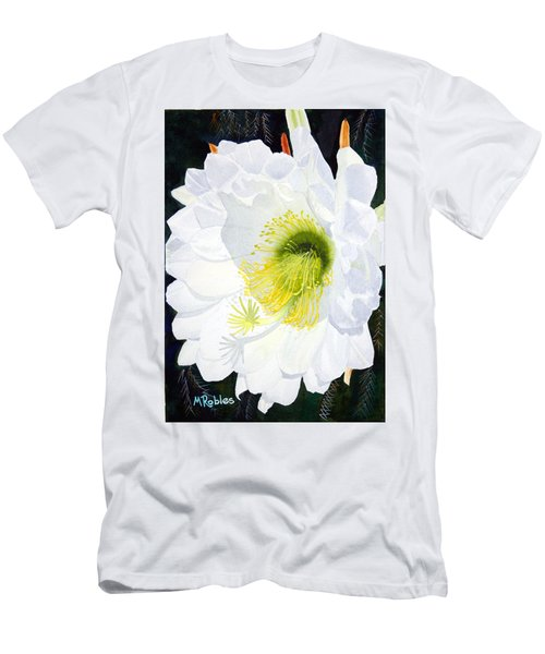 Cactus Flower II Men's T-Shirt (Athletic Fit)