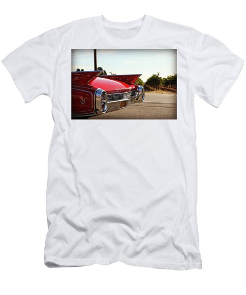 Cadillac In Wine Country  Men's T-Shirt (Athletic Fit)