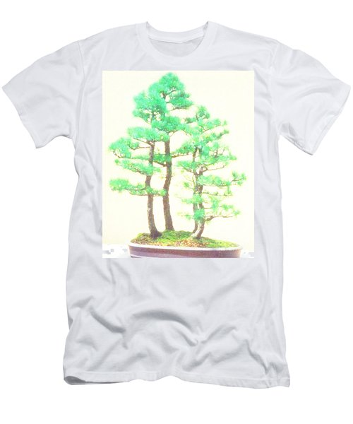 Caitlin Elm Bonsai Tree Men's T-Shirt (Athletic Fit)